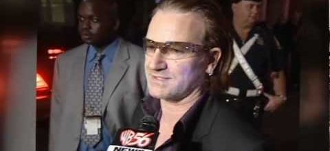 Bono au Symphony Hall -Boston -Massachusetts -États-Unis -27/06/2004