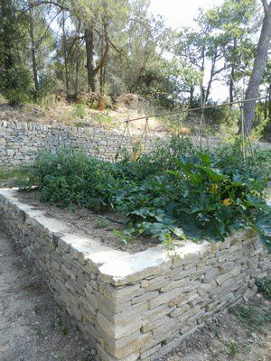création de potagers à Aix-en-Provence
