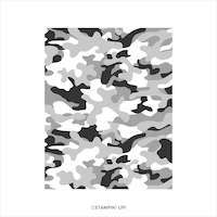 152547 Camouflage tampon fon stampin up tache militaire