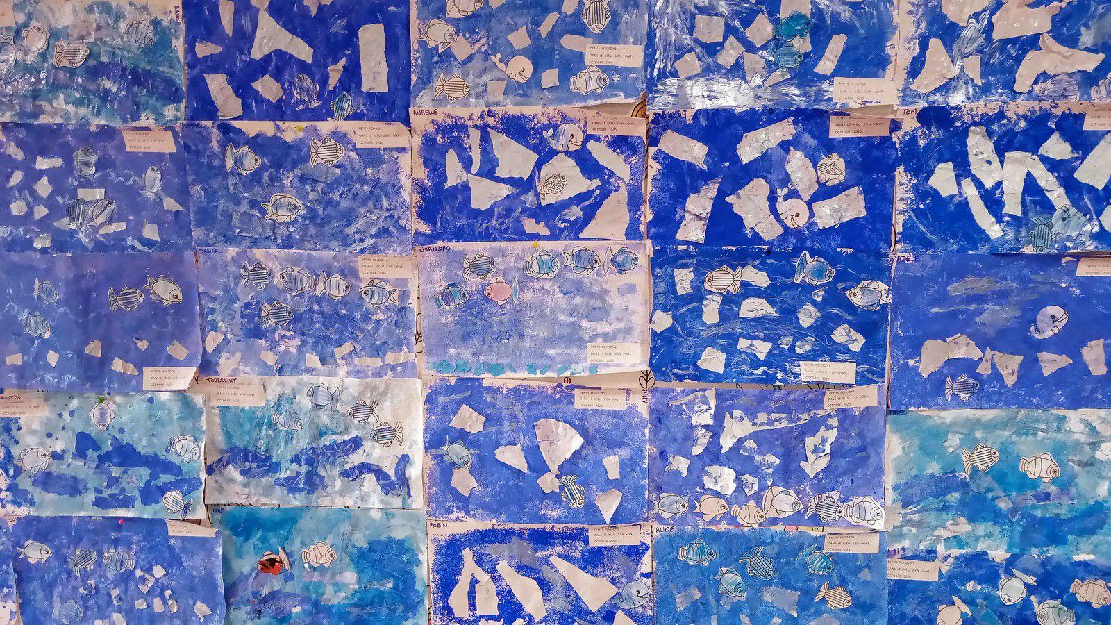 L'Ecole de toutes les couleurs : Bleu