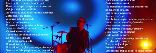 "Traduction U2 ""The Miracle"""