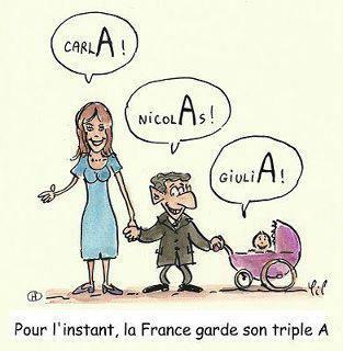 La France garde son triple A ! ! ! / HUMOUR