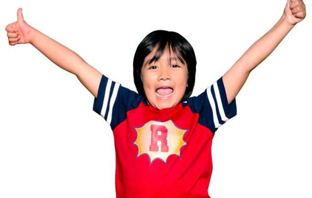 Ryan Kaji, 9 ans, en tête de la liste des stars YouTube les mieux payées de Forbes en 2020 avec des revenus de 29,5 millions de dollars pour la troisième année consécutive