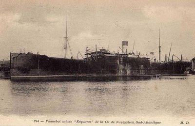 La liste des naufragés du Séquana