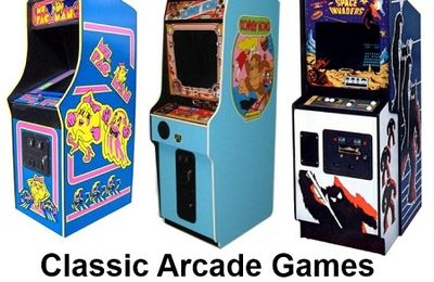 Classic Arcade Games! Own Your Own Today!