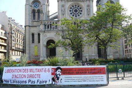 1er Mai 2007 - Slogans pour la libération des prisonniers révolutionnaires