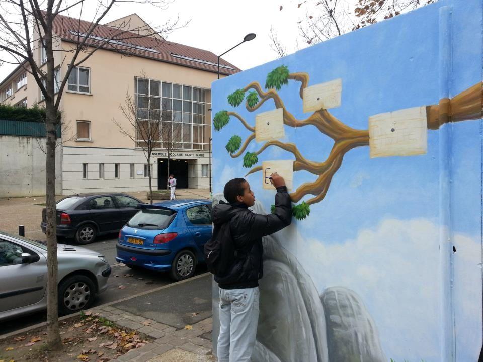 Hors les murs - fresques dans la ville