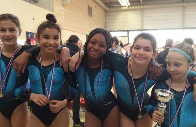 Des médailles pour les gymnastes du CMOV Gym