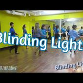 Blinding Lights Line Dance (by Gudrun Schneider & Danny Dick)