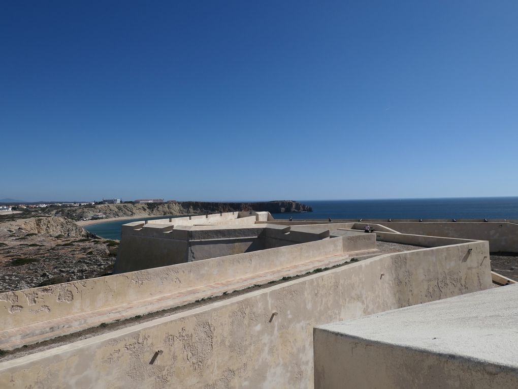 La forteresse de Sagres en Algarve.