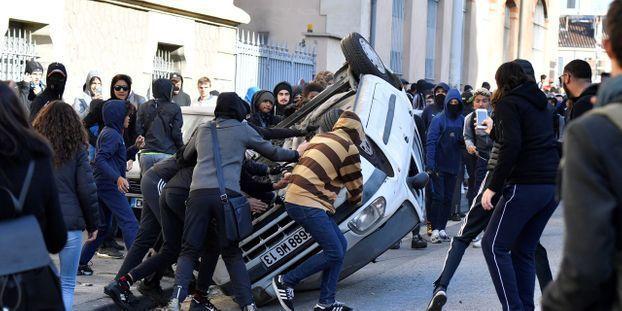Manifestation des lycéens : Environ 200 établissements bloqués aujourd'hui - Plusieurs incidents recensés en France