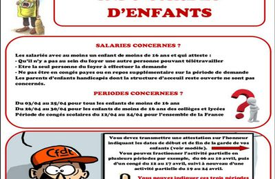 Garde d'enfants : On en sait plus!