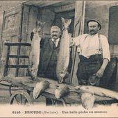 Le saumon de l'Allier vidéo et photos anciennes - L'Auvergne Vue par Papou Poustache