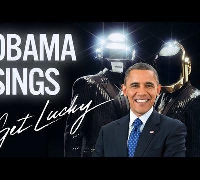 Obama : get lucky