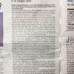 « À l'endroit des femmes d'Amiens et de quelques autres » - Le Courrier picard n°24562, lundi 12 octobre 2020