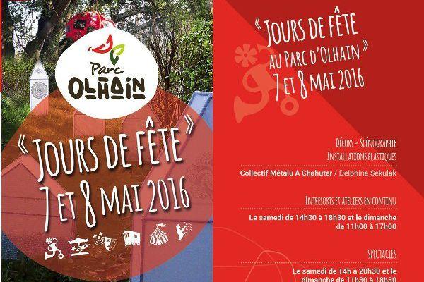 COUPS DE VENTS SUR LE PARC D'OLHAIN...