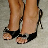 Jessica Alba: Füße in High Heels