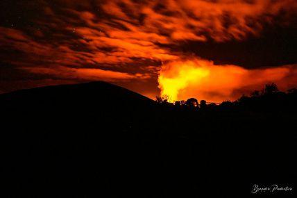 Première éruption de l'année 2021
