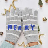 MERRY Felt Mittens - Delineate Your Dwelling