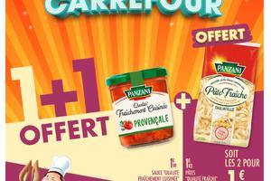 L'offre Duo de Choc Carrefour: de l'Audace et de l'intelligence pour reprendre la mainsur la promo !