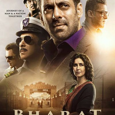 'Bharat' is a typical Salman Khan-starrer with Katrina Kaif taking the cake