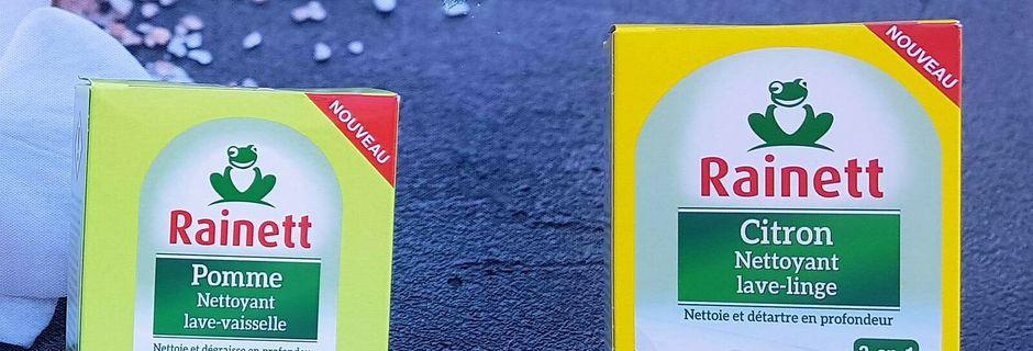 RAINETT lance les premiers nettoyants électroménagers écologiques