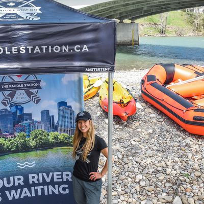 Raft Rentals Calgary, Floating and Float Times on the Bow River