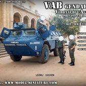 VAB de la gendarmerie (prevote) au 1/72