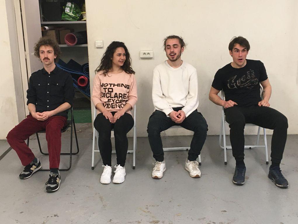 Répétitions à LA FABRIQUE Made in Bagnolet