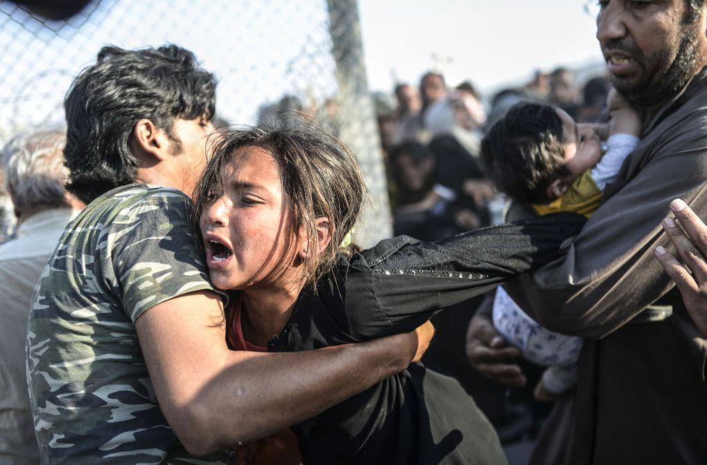 Terrible reportage sur les civils syriens qui essaient de fuir en Turquie, par le photographe turc Bülent Kiliç