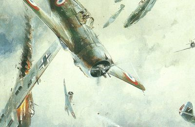 Fighter aircraft, fighter combat, fighter victories, French fighter aces 1940