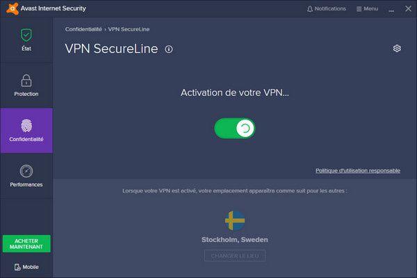 Avast VPN SecureLine
