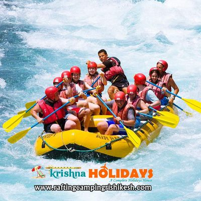 Rishikesh: White Water River Rafting
