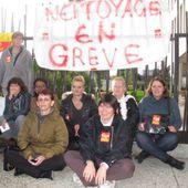 Epi2A : les salariées du nettoyage en grève