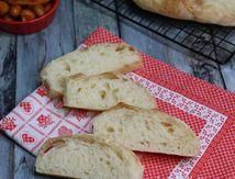 ciabatta, pain italien facile pour sandwich