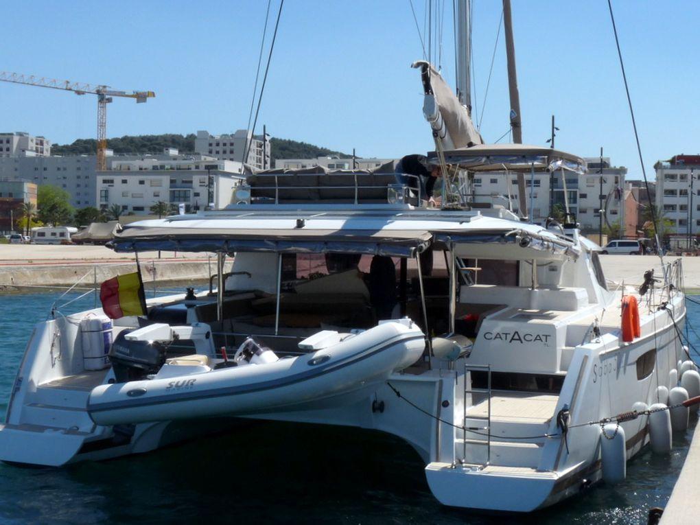 CATACAT , à quai à la Seyne sur Mer le 28 avril 2015