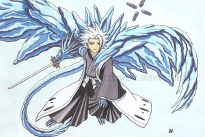 [dessin] toshiro Hitsugaya - Bleach - aux Promarkers