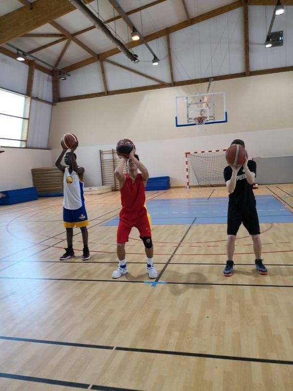 Stage basket, du 16 au 19 avril 2018 pour les u11-u13 le matin et u15-u17 l'après midi