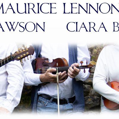 Maurice Lennon, Ciara Brennan & Chris Dawson : en 2nde partie du concert de clôture