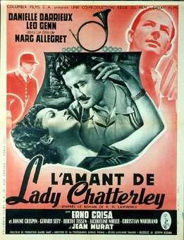 Samedi 23 Octobre - 1h - Cycle : Marc Allégret  : L'amant de Lady Chatterley