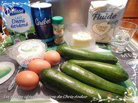 Quiche courgette & fromage de chèvre frais