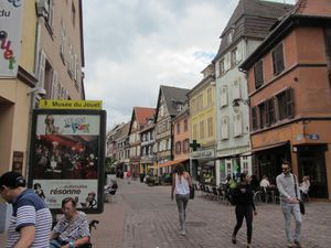 en vacances en Alsace...