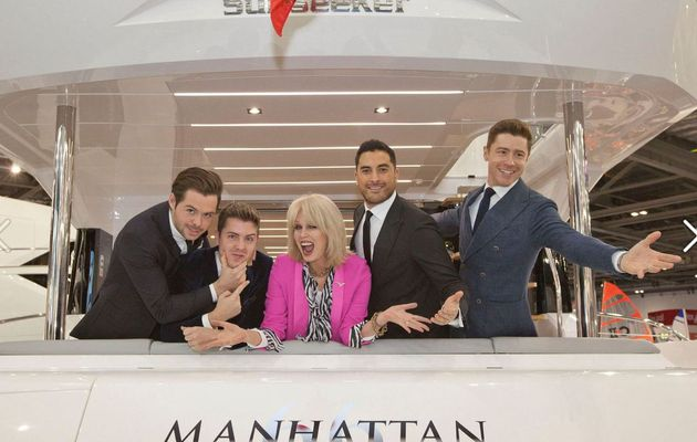Two world premieres at London Boat Show 2017 for Sunseeker