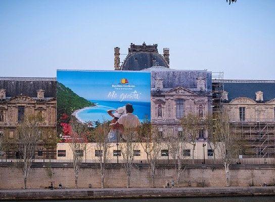La République Dominicaine au Louvres de Paris