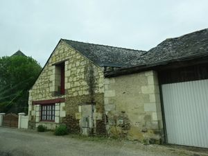 .France-Anjou-Provence, Angers-Montreuil-Bellay-Village-Vieilles maisons, Cl. Elisabeth Poulain