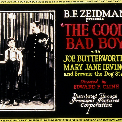 Ame de Gosse (The good bad By (Edward F. Cline, 1924)