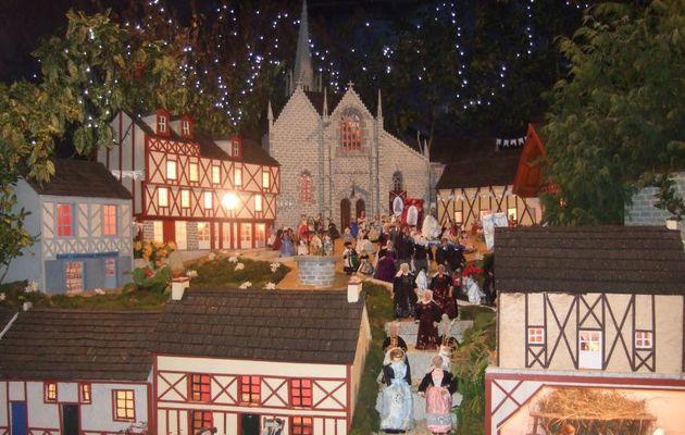 Morbihan : une crèche de Noël XXL et reproduction de lieux bretons