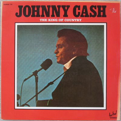 Johnny Cash - The king of country - 1974