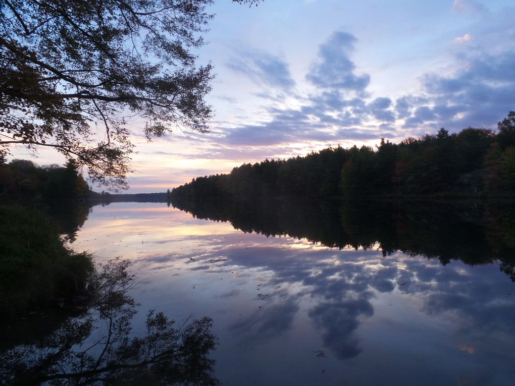 Nos magnifiques couchers et levers de soleil en camping