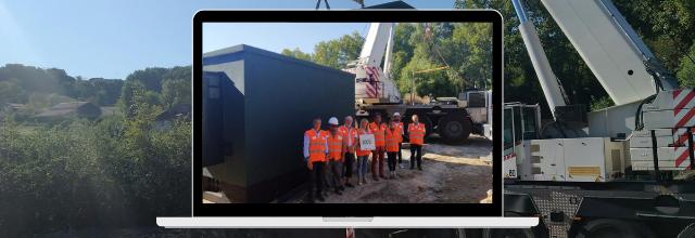 Fibre optique : pose du 20ème NRO dans le Tarn-et-Garonne à Caylus